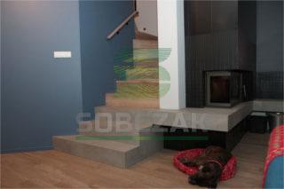 11b - schody na beton, dywanowe
